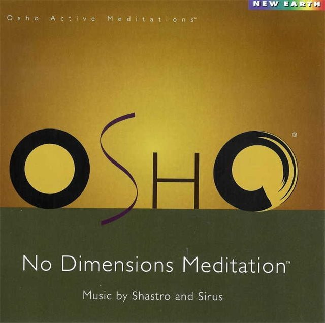Cover Osho No Dimension Meditation